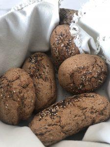 Pan de cereales y semillas sin gluten